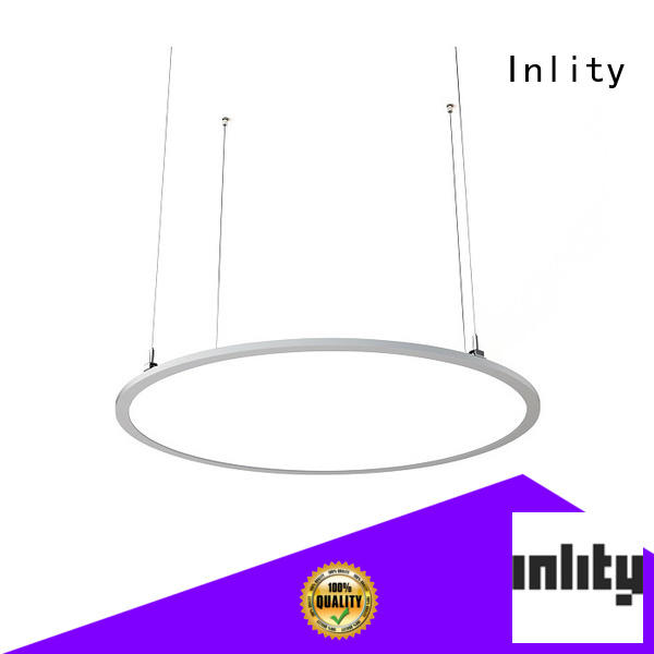 Inlity New round panel light supply for restaurant