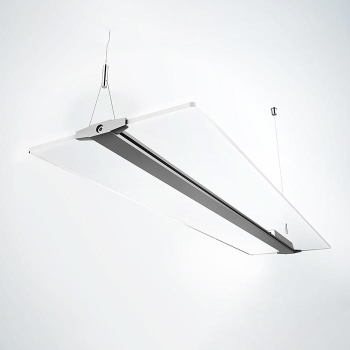 Square Clear LED Panel Light Fixture