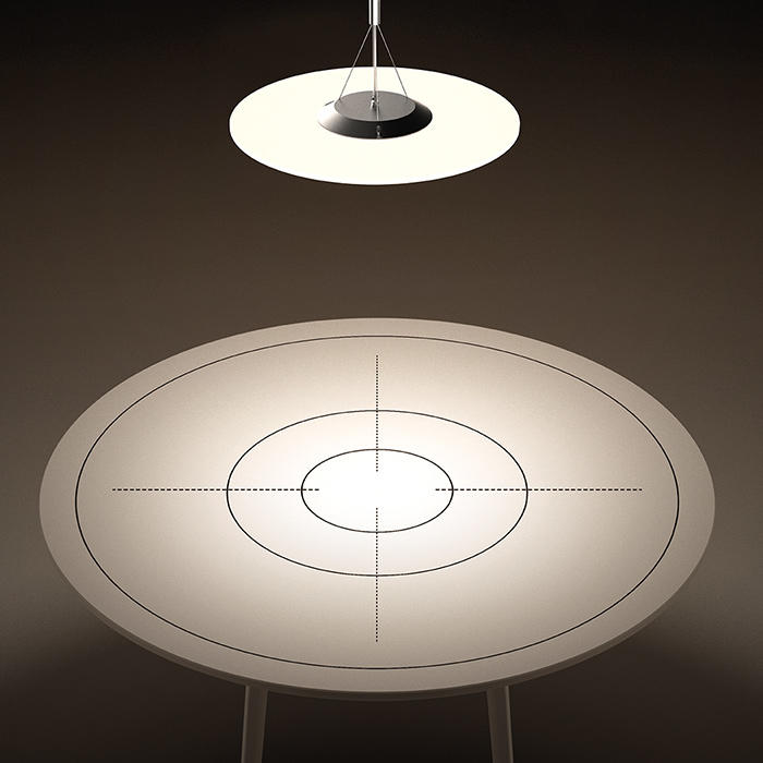 Round Clear LED Panel Lamp Led Light Round Panel