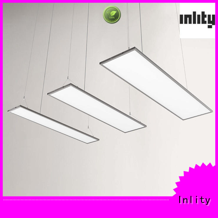 Inlity New rectangle hanging lights supply for reading room