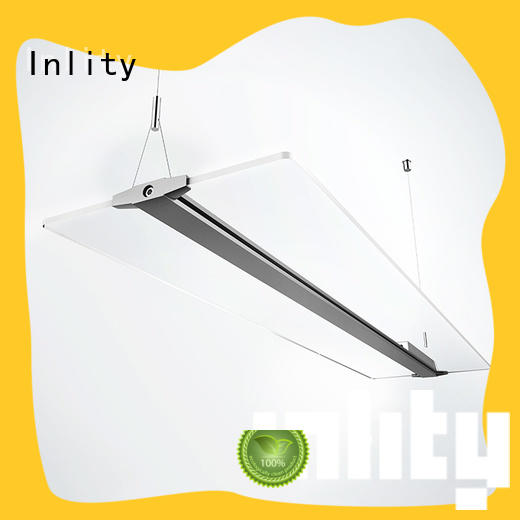 Inlity Latest led panel light fixture company for hotel