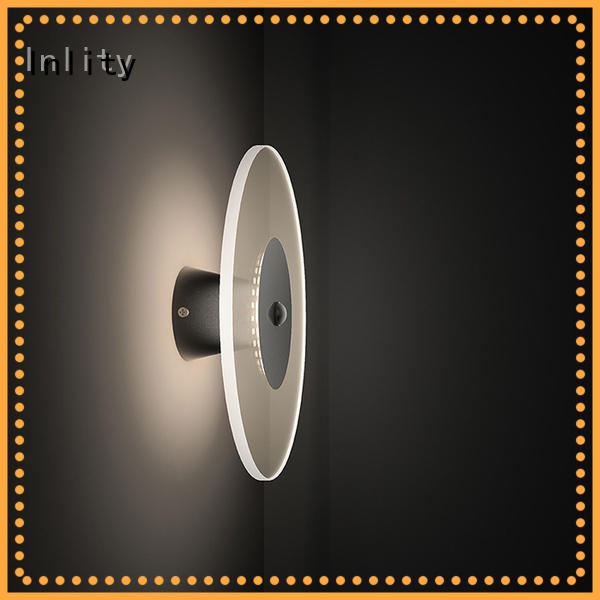 Inlity led round wall light factory for bar