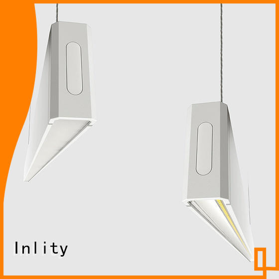 Inlity linear canopy lighting factory for hotel