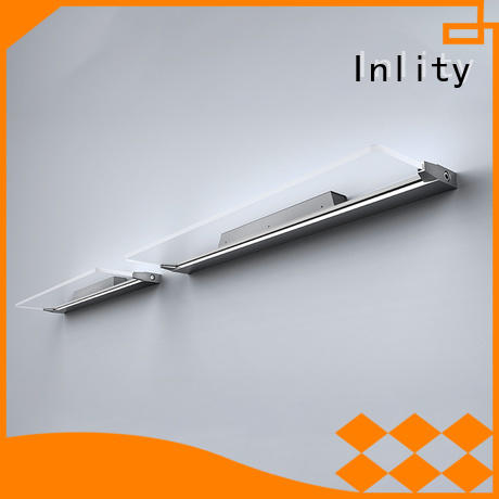 Inlity led wall sconce indoor supply for washroom