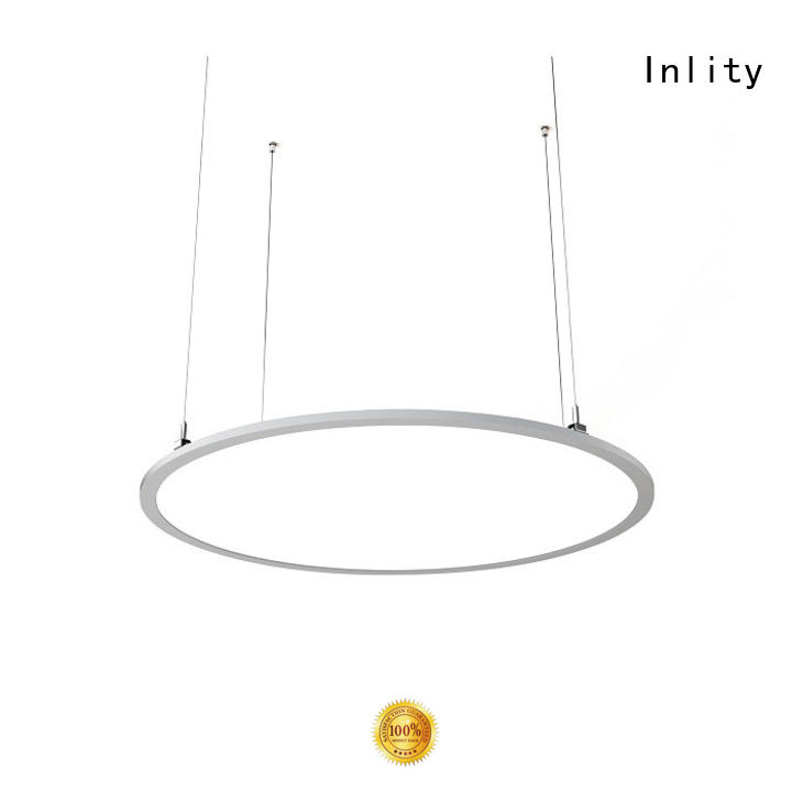 Inlity round panel light supply for home