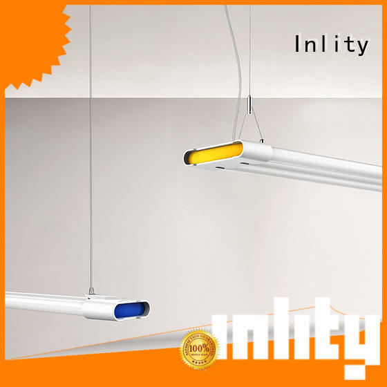 Inlity New led batten light fittings factory for supermarket