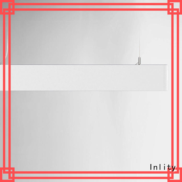 Good Design linear hanging lights company for retail store