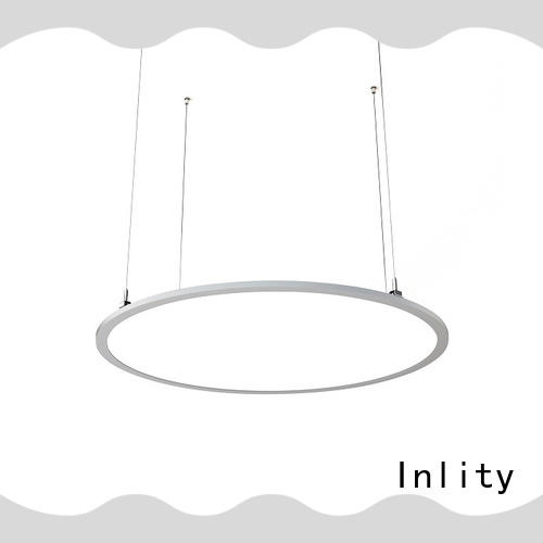 Inlity round led panel light dimmable supplier for restaurant