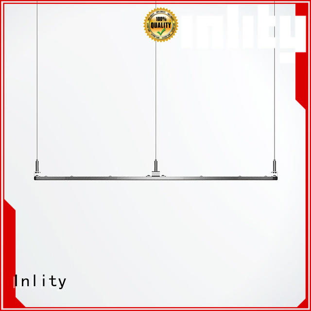 Inlity round panel led light supply for restaurant
