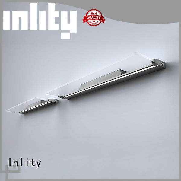 Inlity led square wall light manufacturer for bedroom