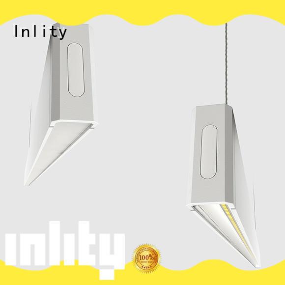 Inlity led linear pendant light manufacturer for restaurant