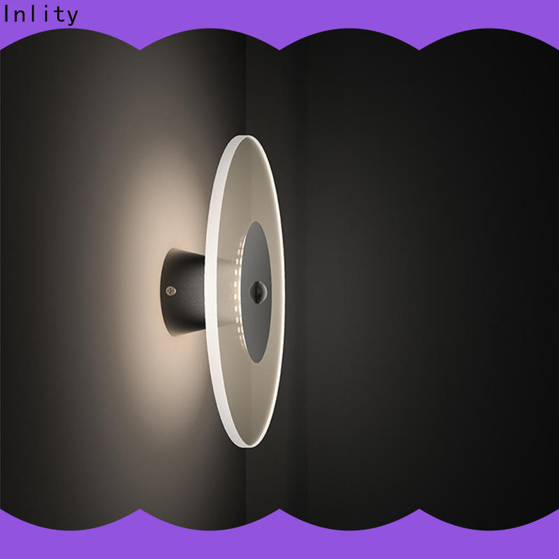 Inlity led wall lights indoor supplier for bedroom