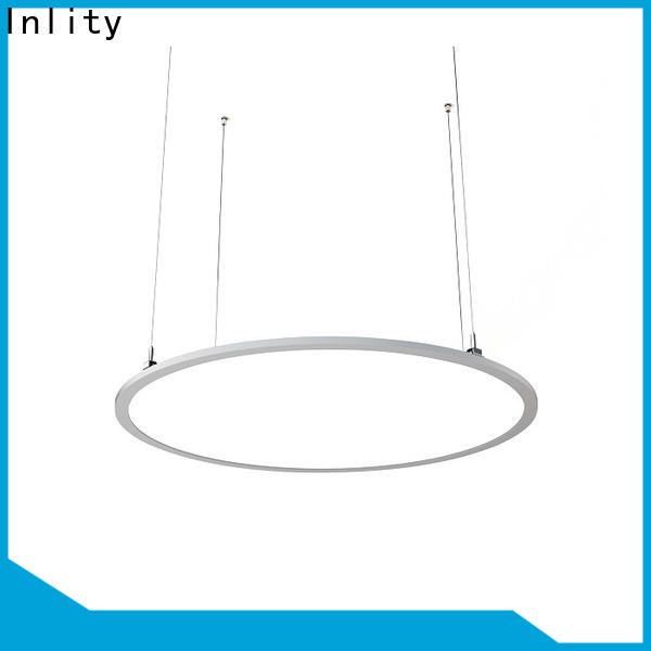 Inlity round light panel company for hotel