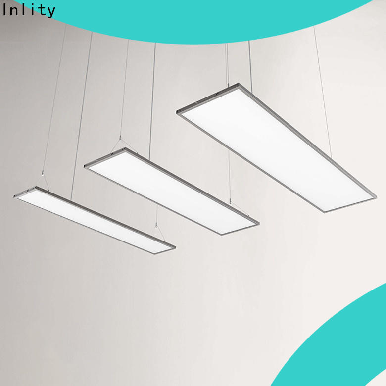 Inlity square light panels company for training room