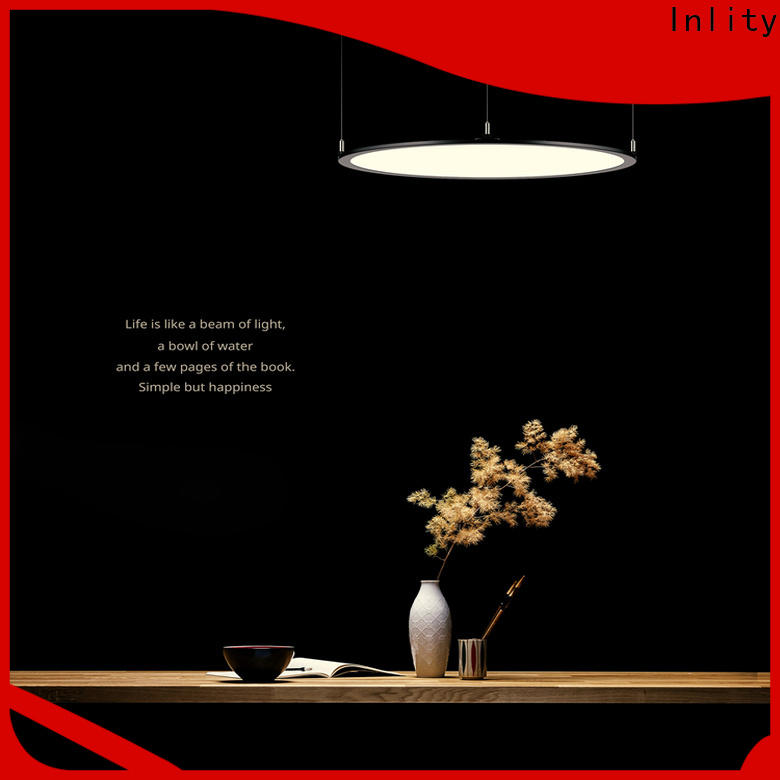 Inlity led round panel ceiling lights company for hotel