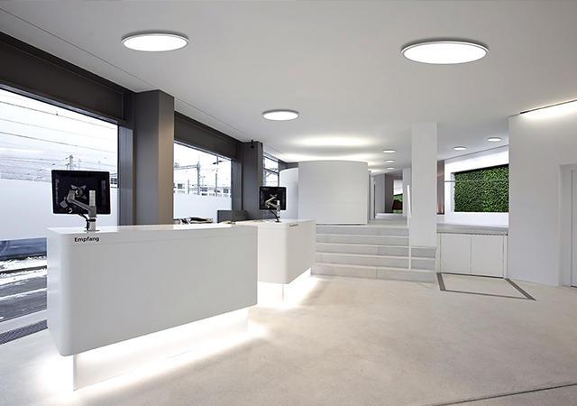 Office round LED panel lights