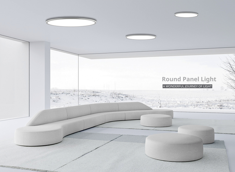Inlity led round panel ceiling lights company for hotel-3