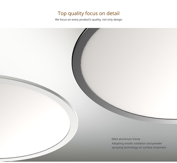 Inlity led round panel ceiling lights company for hotel-10